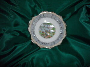 Silver Birch Shell Shaped dish - 5 1/8""