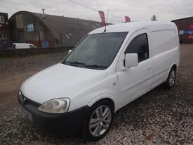 VAUXHALL COMBO 1.7 CDTi 16v~PANEL VAN~MANUAL~55/2006~BRIGHT WHITE~NO VAT~NO VAT