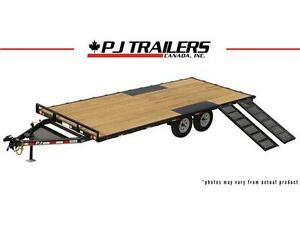 "16' Light Duty Deckover Trailer, 5"" Channel (L5)"