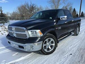 2014 Ram 1500 CrewCab 4x4 LARAMIE **LEATHER-NAV-SUNROOF**