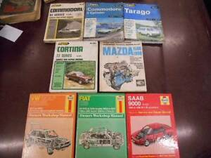 Various Service Repair Workshop Manuals VW Fiat Saab Mazda Ford Lonsdale Morphett Vale Area Preview
