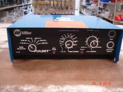 Miller Electric Pulset Pulse Unit 1986 Vintage See Pics New Obsolete Old Stock