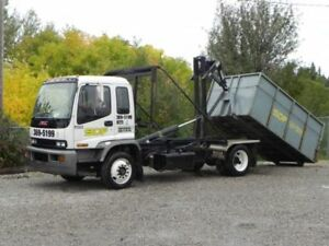 Dumpster Rental Starting at $200.00 Call SDF Waste 403-369-5199