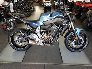 Loads of fun, plus this FZ-07 has ABS