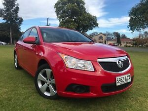 2012 Holden Cruze JH Series II MY13 Equipe Red 5 Speed Manual Sedan Somerton Park Holdfast Bay Preview