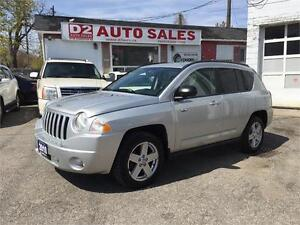 2010 Jeep Compass North Edition/Automatic/4x4/Certified