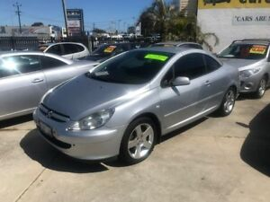 2005 Peugeot 307 T5 MY03 CC Dynamique Silver 4 Speed Sports Automatic Cabriolet Welshpool Canning Area Preview