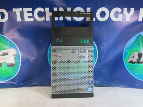 Lot Of 4 - Dell Optiplex 9010 Mini Tower Front Case Bezel Panel Faceplate