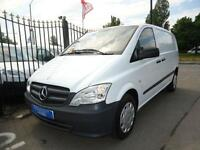 2012 MERCEDES VITO 2.1CDI 113 (EU5) SWB Panel Van - Compact / AIR CONDITIONING