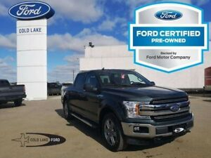 2018 Ford F-150 CERTIFIED PRE-OWNED, LARIAT, SKID PLATES, B&O PL