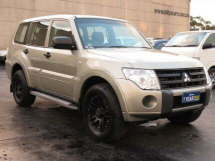2010 Mitsubishi Pajero NT MY10 GL LWB (4x4) Champagne 5 Speed Manual Wagon Condell Park Bankstown Area Preview