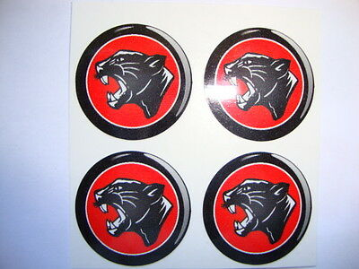 "12  BLACK PANTHER 1"" BOWLS STICKERS LAWN BOWLS FLAT GREEN CROWN GREEN BOWLS"