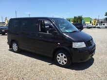 2008 Volkswagen Multivan T5 Comfortline Black 6 Speed Sports Automatic Wagon Rocklea Brisbane South West Preview