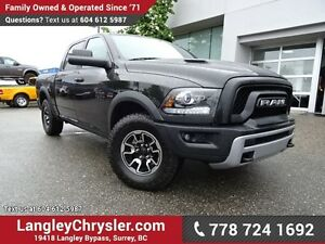 2016 RAM 1500 Rebel ACCIDENT FREE w/ OFF-ROAD PACKAGE, AIR SU...