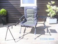 Silstar fishing chair station