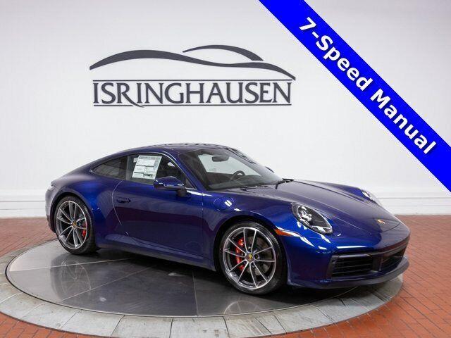 2021 Porsche 911 Carrera S 0 Gentian Blue Metallic 2 Door Coupe Twin Turbo Premi
