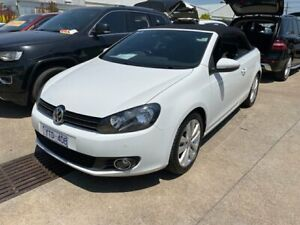 2011 Volkswagen Golf VI MY12 118TSI DSG White 7 Speed Sports Automatic Dual Clutch Cabriolet Dandenong Greater Dandenong Preview