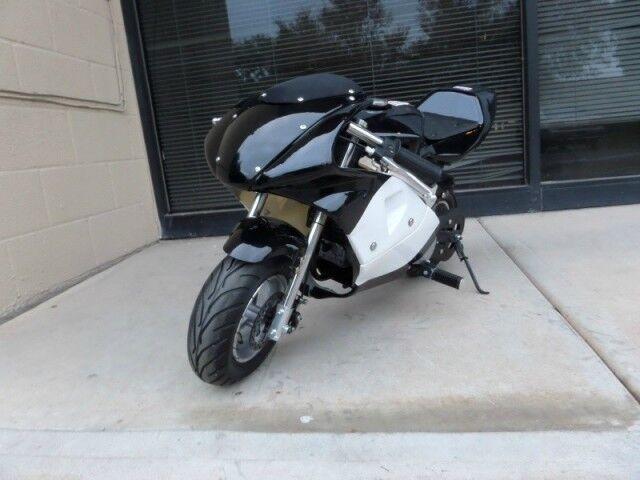 High Performance Honda clone 4 Stroke 40cc Black Pocket Bike Mini Bike