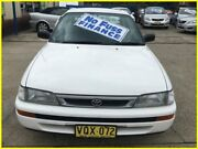 1999 Toyota Corolla AE101R CSi White 4 Speed Automatic Sedan Kogarah Rockdale Area Preview