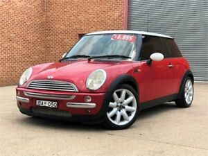2003 Mini Hatch R50 MY03 Cooper Red 6 Speed Constant Variable Hatchback Mount Druitt Blacktown Area Preview