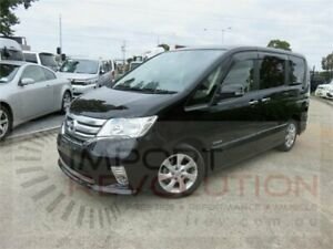 2012 Nissan Serena Welcab Black Constant Variable Wagon Bayswater Knox Area Preview