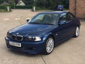 BMW 320CI Sport (2003) M Spec - 86,000 Miles -Coupe - Petrol/Manual- Full Service History - Warranty