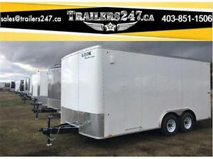 -*-*New 8.5 x 16ft Cargo Trailer w/5,200lb Axles-Tax In*-*-