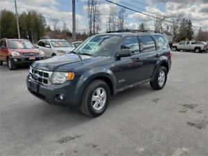 2008 Ford Escape 4x4 no rust safetied