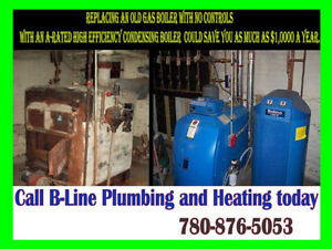 B-Line Same Day Service Certified Gas Fitter 780-876-5053