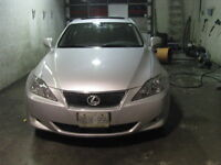 Platinum Silver Lexus IS250 2007 Automatic Sunroof Loaded