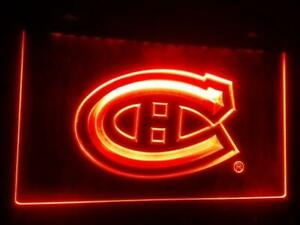Montreal Canadiens LED Neon Light Sign (New) Canada Preview