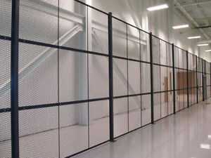 WELDED WIRE MESH INDUSTRIAL PARTITIONS | ALL SHAPES & SIZES