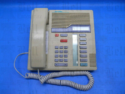 Nortel Meridian Business Series Phone Nt8b30ad35 A0406962 M7208