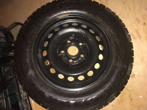 Goodyear Nordic Winter Tires and rims 195/65R15