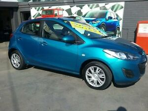 2011 Mazda 2 DE MY12 Neo Blue 5 Speed Manual Hatchback Greenacre Bankstown Area Preview