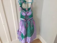 Disney Ariel Dressing up outfit 6-8 years old