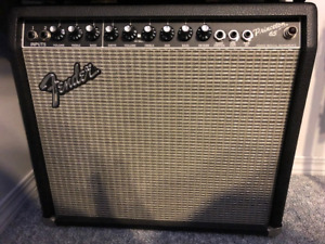 Fender Princeton 65 and footswitch
