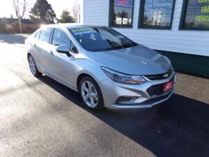 2017 Chevrolet Cruze Premier only $159 bi-weekly all in!