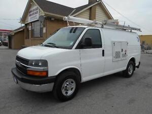 2009 CHEVROLET Express 3500 Cargo 4.8L Rack Generator 69,000KMs