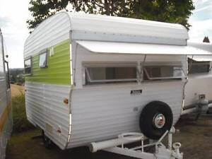 1974  YORK VINTAGE CLASSIC RETRO 11 FT CARAVAN SUNSHINE COAST Woombye Maroochydore Area Preview