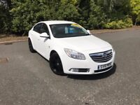 2011 VAUXHALL INSIGNIA SRI WHITE 35,000 MILES BLACK ALLOYS STUNNING CAR MUST SEE £5995 OLDMELDRUM