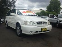 2003 Kia Carnival LS White 4 Speed Automatic Wagon Woodbine Campbelltown Area Preview