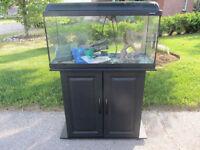 25 Gal. Aquarium with Stand