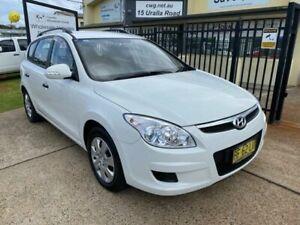 2010 Hyundai i30 FD MY10 CW SX 2.0 White 4 Speed Automatic Wagon Port Macquarie Port Macquarie City Preview