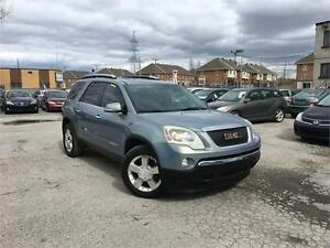 GMC ACADIA 2007 AUTO CUIR/MAGS/TOIT OUVRANT/7 PASSAGERS!