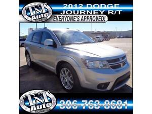 2012 Dodge Journey R/T - NEED FINANCING? EZ APPROVAL! APPLYNOW!