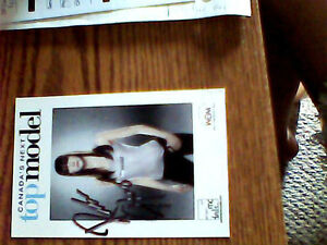 Selling an autograph canada's next top model cycle 2 winner Kitchener / Waterloo Kitchener Area image 2