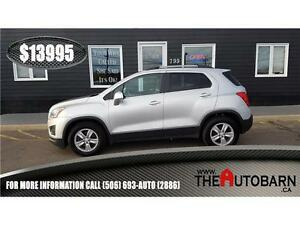 2013 CHEVROLET TRAX LT FWD - cruise, bluetooth, only 99794km