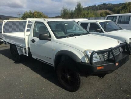 2003 Holden Rodeo RA LX (4x4) White 5 Speed Manual Cab Chassis Spreyton Devonport Area Preview