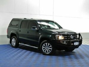 2013 Volkswagen Amarok 2H MY13 TDI420 Highline (4x4) Ontario Green 8 Speed Automatic East Rockingham Rockingham Area Preview